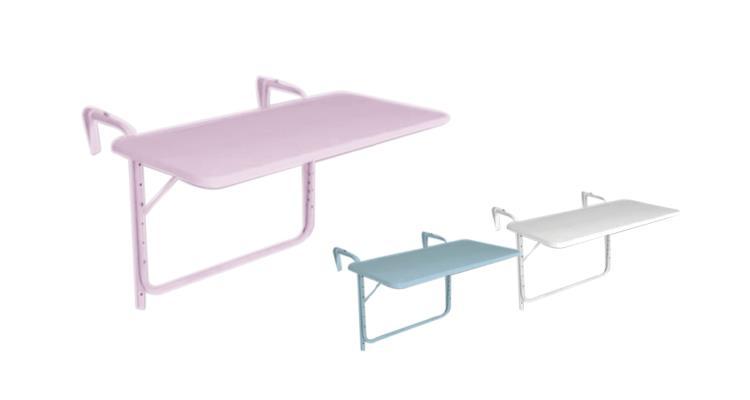 katlanır balkon masası