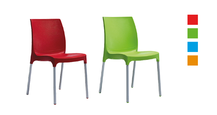 renkli sandalye